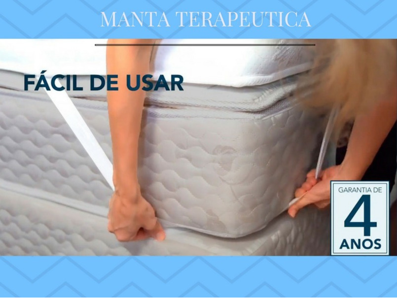 Manta Quântica 15 Tipos De Massagens 1,98 X 2,03 King - 2/2