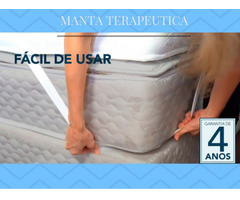 Manta Quântica 15 Tipos De Massagens 1,98 X 2,03 King