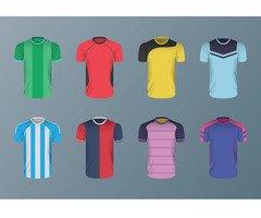 Uniforme de futebol jogo de camisas