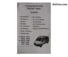 TRANSPORTE ESCOLAR CAMPINAS SP