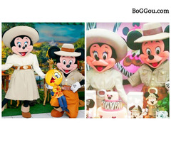 Safari Mickey Minnie cover personagens vivos festas infantil animacao